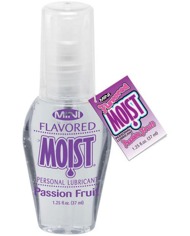 Mini Flavored Moist Lubricants