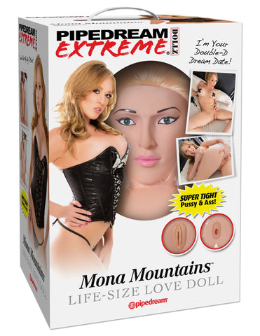 Mona Mountains Life Size Realistic Vagina and Ass Sex Doll