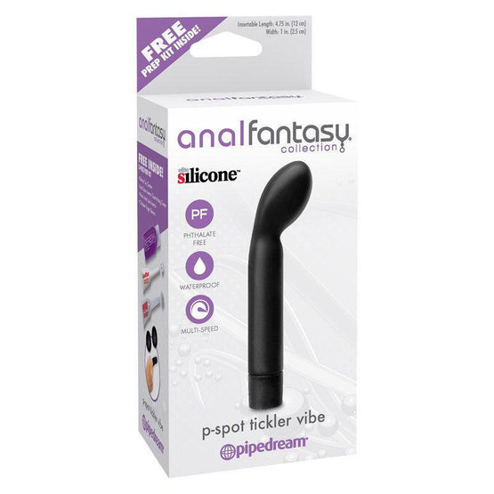 Anal Fantasy P-Spot Tickler Vibrator - Package