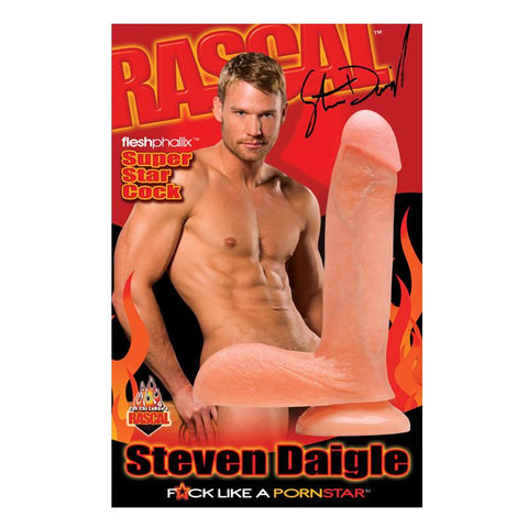 Steven Diagle Lifelike 8.5 Inch Suction Cup Cock - Package