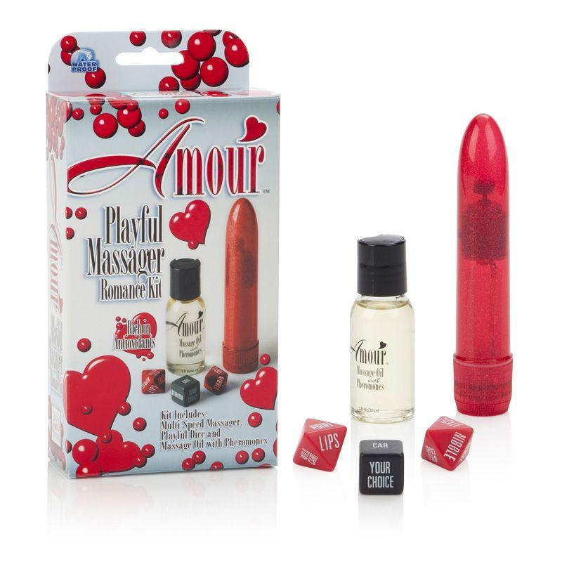 Amour Playful Massager Romance Kit Package