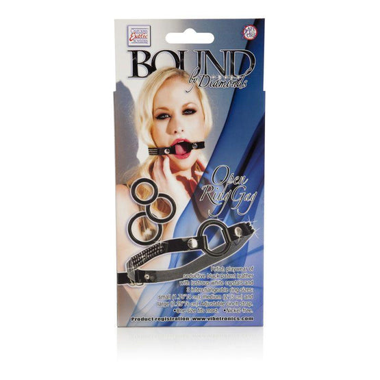 Bound by Diamonds Open Ring Gag - Box back