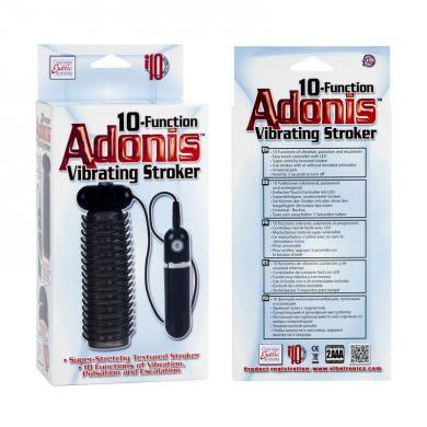 Adonis 10 Function Vibrating Stroker - Box