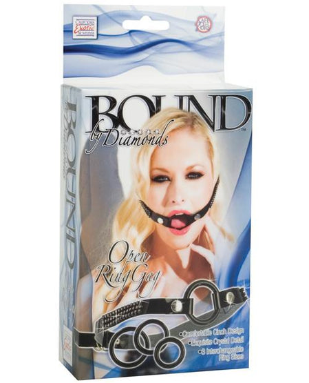 Bound by Diamonds Open Ring Gag - Box Front