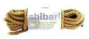 Shibari Natural Hemp 32 Feet Bondage Rope