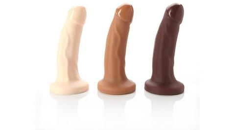 "Tantus - Mark O2 Realistic 6"" 3 Colors Side"