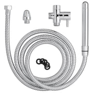 Cloud 9 Fresh + Premium 6ft Stainless Steel Shower Enema Kit With Diverters