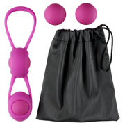 Cloud 9 Kegel Training 4 Ball Set With Travel Pouch