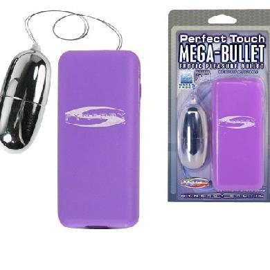 Perfect Touch Mega-Bullet Vibrator Purple Package