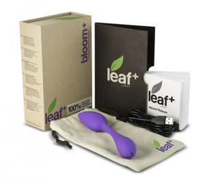 Bloom+ by Leaf Dual Ended Eco-Friendly Wand Vibrator with Includes