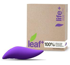 Life+ by Leaf Luxury Eco-Friendly Clitoral Vibrator with Box