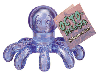 Octo-Pleaser Massager Display