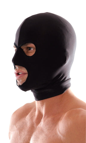 Fetish Fantasy Series Spandex 3 Hole Hood In Head