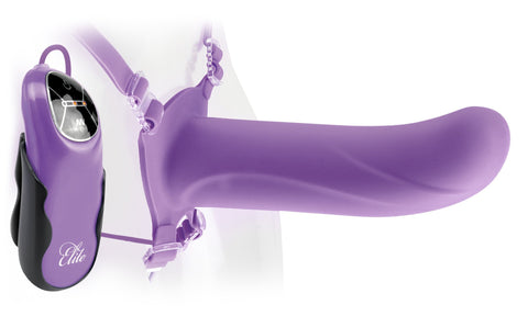Fetish Fantasy Elite 8 Inch Hollow Vibrating Strap On