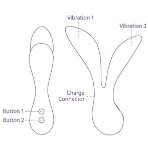 Vitality+ by Leaf USB Rechargeable Eco-Friendly Vibrator - Specifications