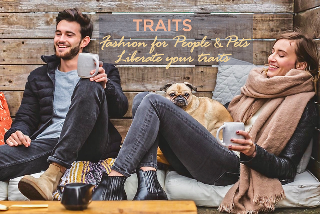 TRAITS. Fashion for people and pets @ itraits.com. Liberate your traits.