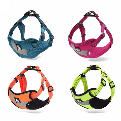 Brite Vibes - Reflective Dog's Vest Harness for Larger Breeds