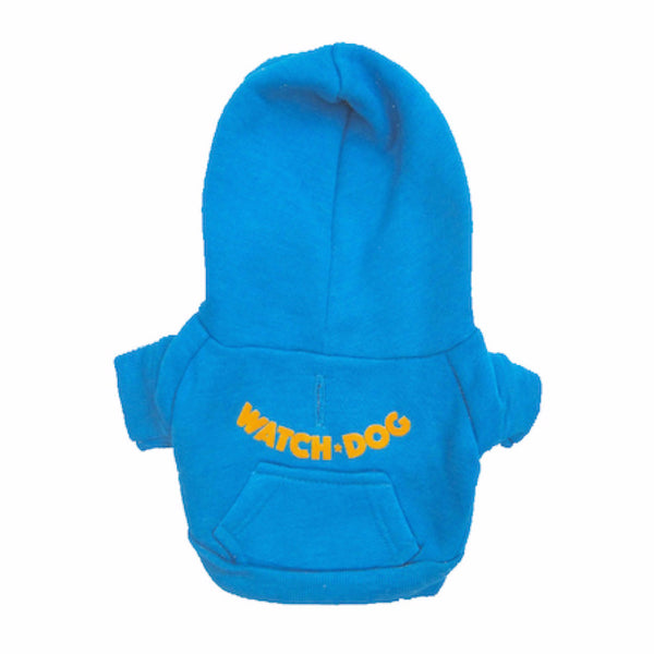 Watch * Dog - X-Small Dog's Fleece Zip Hoodie