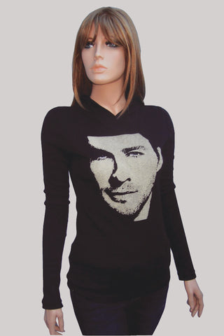 Chris Hemsworth - Women's Fitted Hoodie