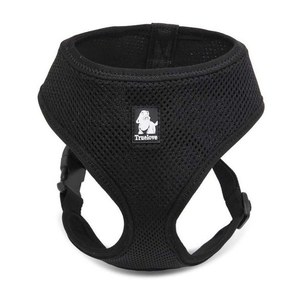 Extra soft and comfortable Dog or Cat Harness - Breathable Mesh Nylon, Extra Soft with Escape-proof buckle for Small Breeds; doesn't put pressure on the neck.