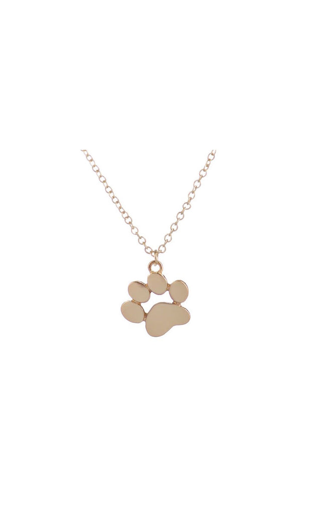 Pet Paw Pendant Necklace
