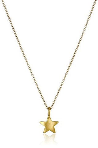 Gold Plated Star Pendant Necklace