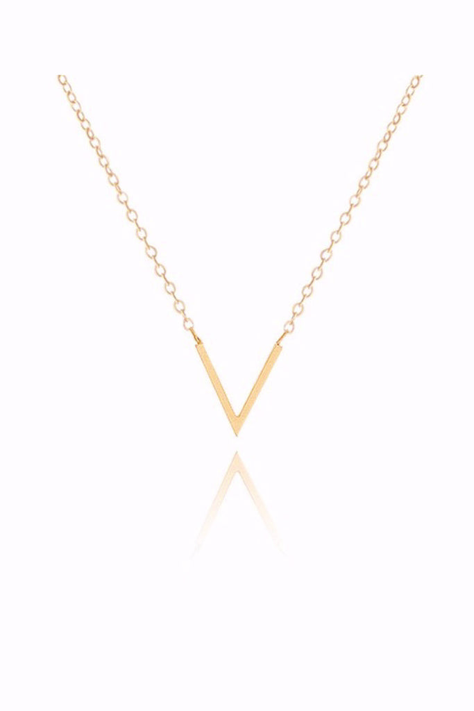 V Shape Necklace