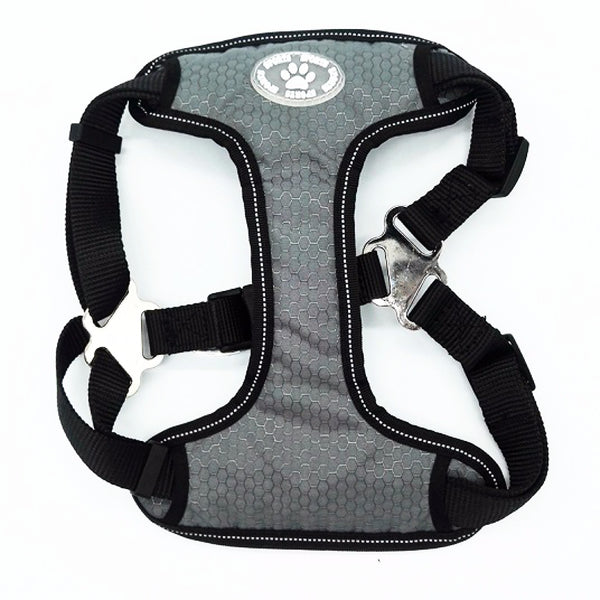Dog Harness - No-Pull, Adjustable, Soft Padded with Reflective Trim for Smaller Breeds