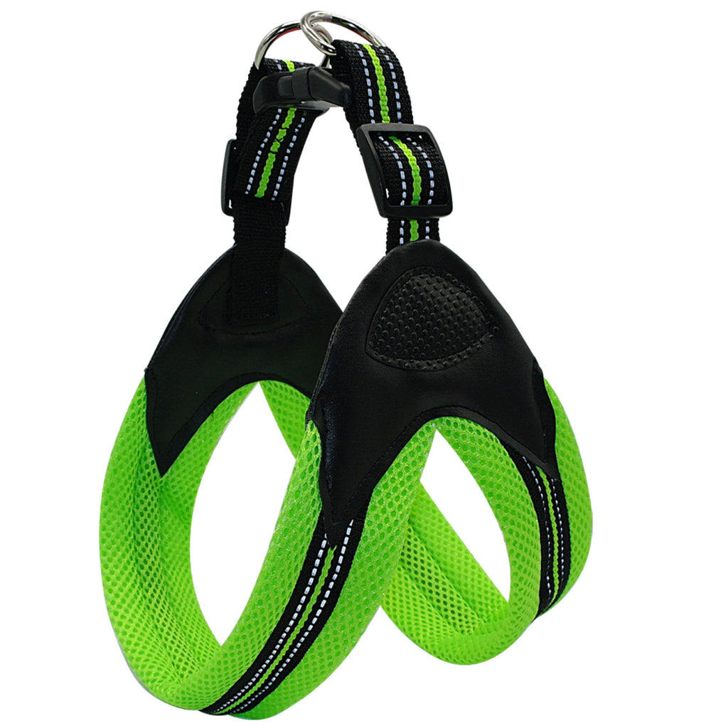 Dog Harness - No-Pull, Reflective, Soft Mesh Padded for Medium to Large Dog
