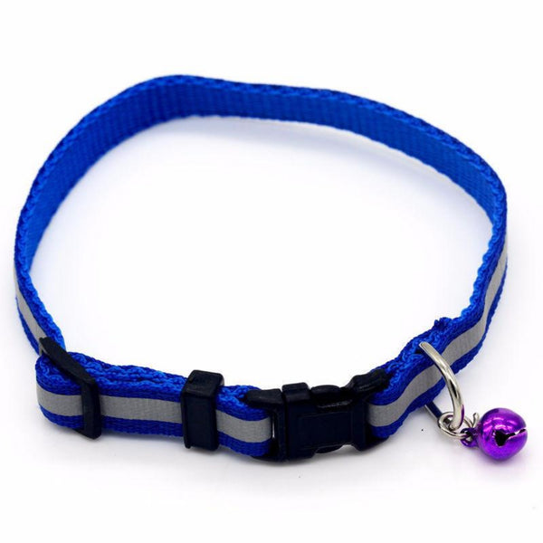 Small Dog Cat Collar with a Bell