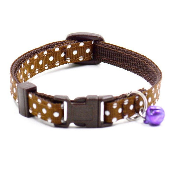 Adjustable Dog/Cat Collar with a Bell