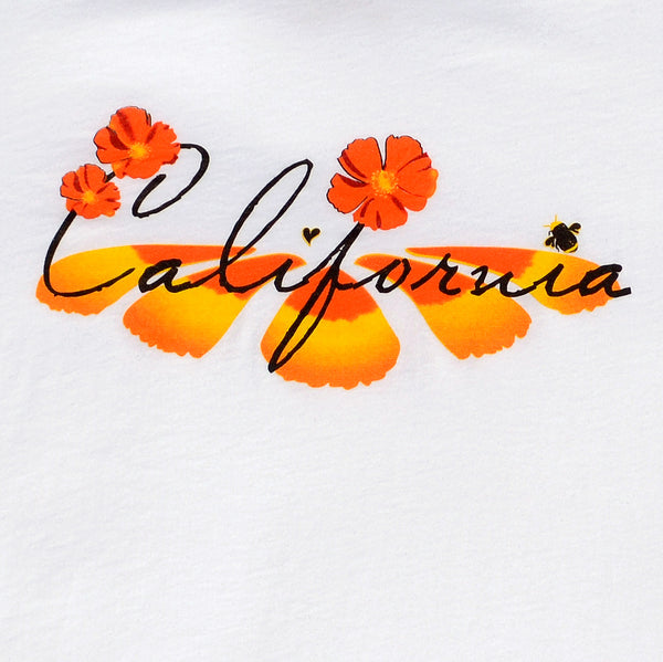 California Poppy design close-up