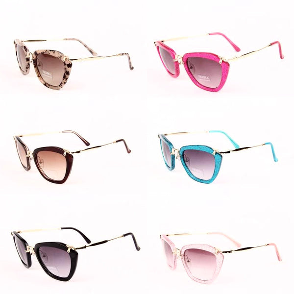 Designer look Fashion Sunglasses in Two Colors