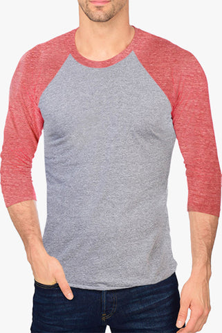 Raglan shirt with 3/4 Sleeve