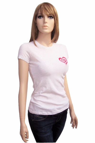 Heart to Heart - Fitted T-shirt in Two Colors