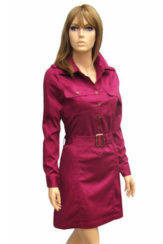 Trench Mini Dress in Two Colors