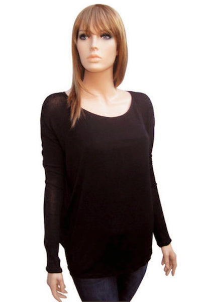 Bat Wing Sleeve Top in Two Colors