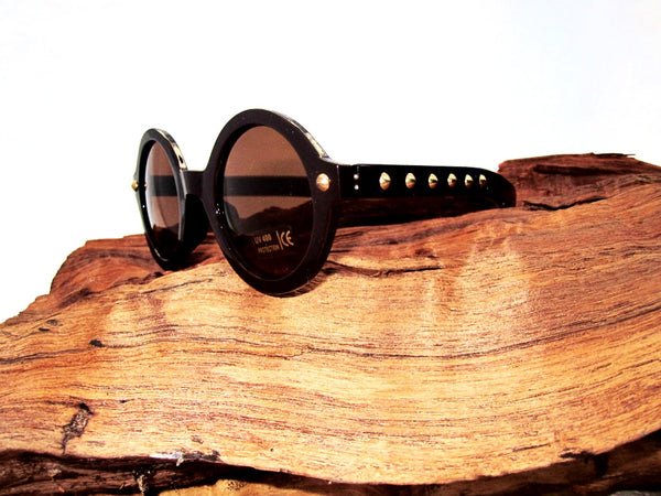 Metal Studs Sunglasses in Four Colors