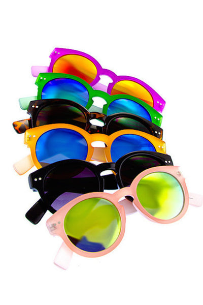 Fruit Colors Sunglasses in Five Colors