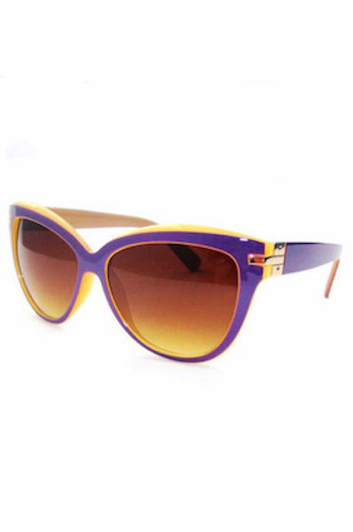 Cat-Eye Sunglasses in Four Colors