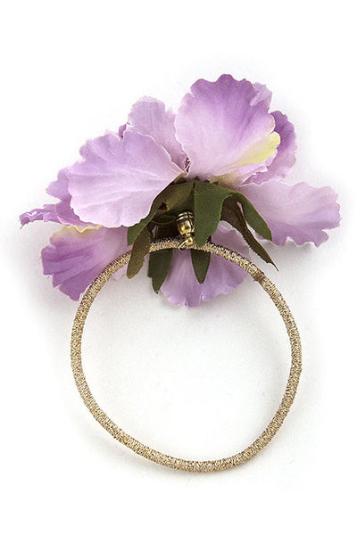 Floral Hair Tie in Three Colors