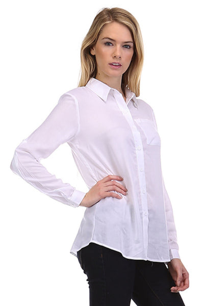 Roll Up Sleeve Shirt in Two Colors
