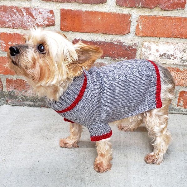 Winter is delightful for your pup or kitty in this Soft, Luxurious and well-made Norwegian-style Wool Blend Dog Cat Sweater in Grey. Keeps your dog, cat or other pet warm and stylish this holiday season and throughout the year. Comfortable and super cozy fit