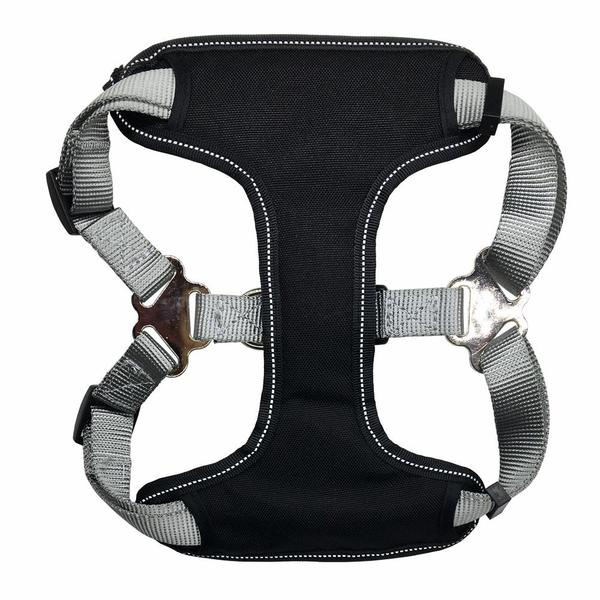 Well-constructed dog cat harness is made of premium quality, weatherproof materials and durable hardware. Safe, comfortable, convenient and durable for walking, running, hiking and riding in vehicles.