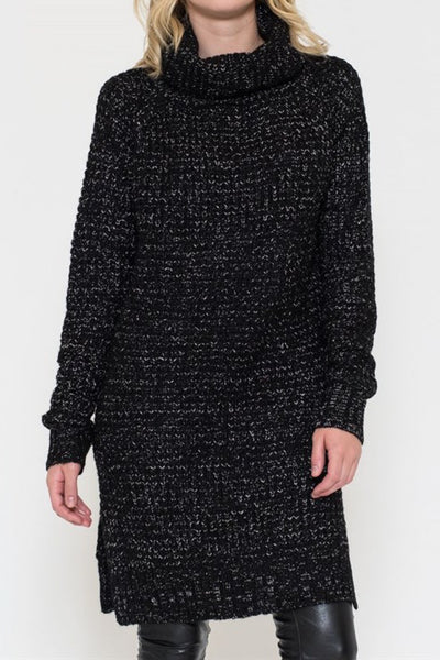 Melange Sweater Dress