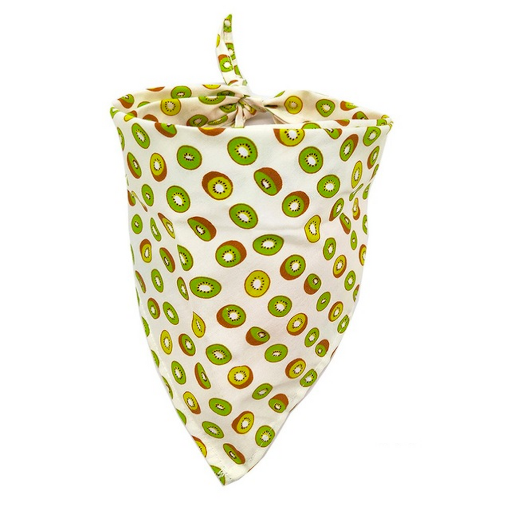 Fun and Summerful Dog or Cat Bandana for Small Breeds. Get a cuteness overload of your pet in this adorable neckwear. Smiles are welcome!