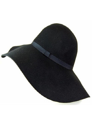 100% Wool Wide Brim Hat