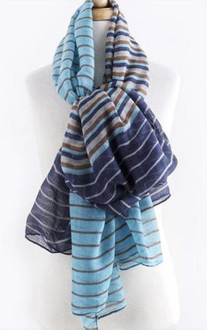 Stripe Design Scarf