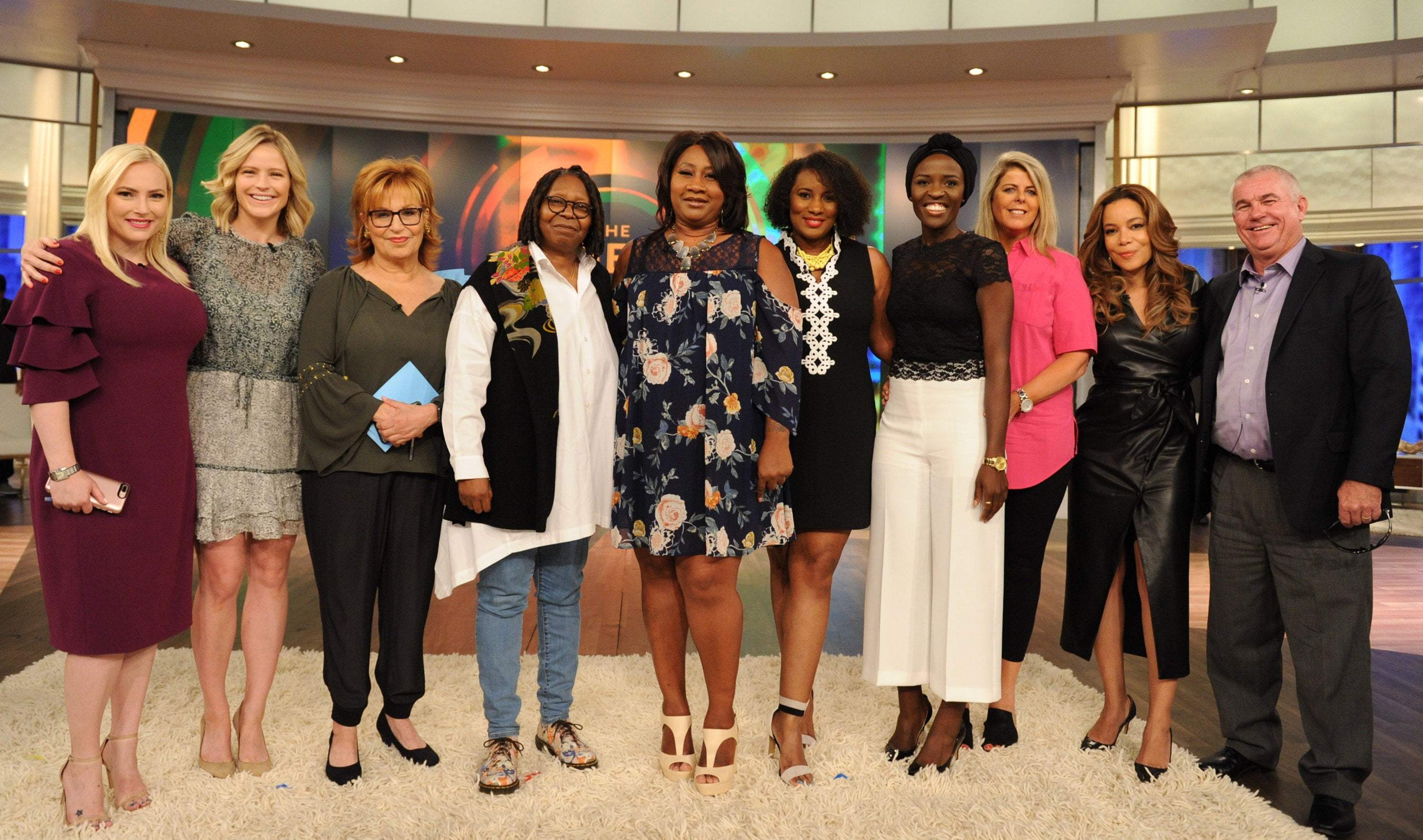 Grace Eleyae and Whoopi Goldberg give woman the surprise of a lifetime.