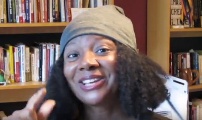 How to Care for Natural Hair With a Satin Lined Cap by Montina Portis